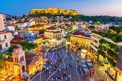 Beautiful Athens at Night