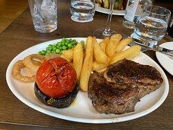 Aged Rib eye steak