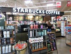 Hy-Vee: excellent Starbucks! July 2021