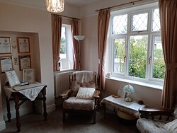 Our cosy Guest Lounge is a great place to relax in the evenings. There are books available and games to play too!
