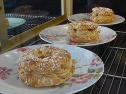 Paris-Brest crème mousseline praliné, fait maison