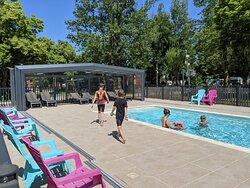 The pool, so much fun!