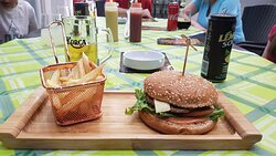 Delicious burgers, and kebab. My true recomendations :-)
