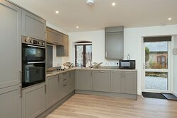 Kitchen in lower Great Barn