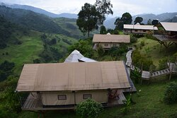 Палатки-виллы.