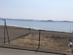 オホーツク海とサロマ湖両方が一望できます
