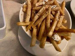 Lovely crispy fries