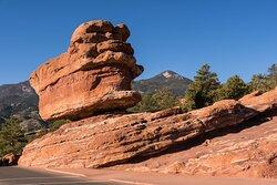The Famous Balanced Rock