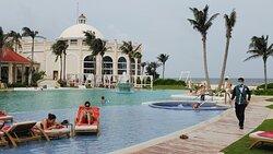 Beautiful main pool.