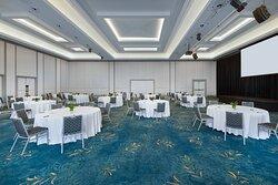 JW Grand Ballroom - Reception Setup