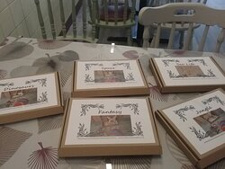 Craft boxes ready to paint and decorate