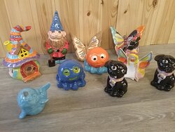 Lovely items created by Waves group on holiday
