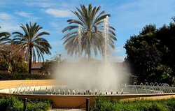 Fountains wherever you look