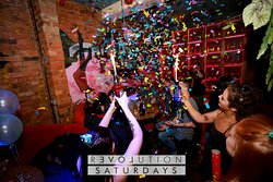 Visit Revolution Saturdays for your weekly dose of late night weird and wonderful - THE best party in town!