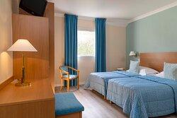 Chambre Double avec 2 lits simples