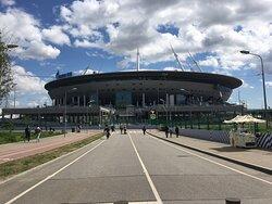 Футбольная арена.
