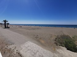 Playa del Rincón de la Victoria.