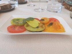 Carpaccio de tomates
