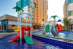 Parque aquático para crianças