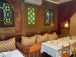 Coin salon marocain a la palmeraie de Marrakech à Gagny
