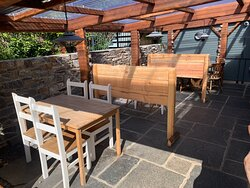 Covered Patio with Heating