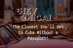 A Brisbane venue with a Latin American vibe, a slice of Cuba right in the heart of Fortitude Valley. If you're looking for an energetic place to meet friends, have a bite to eat, or dance all night, Hey Chica! offers it all; topped with a unique drink offering.