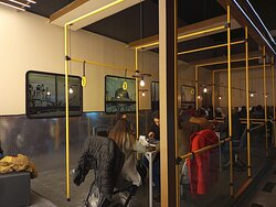Salòn Interior de Bondi Stop Bar: Barrio Palermo, Ciudad de Buenos Aires- Argentina 2021.