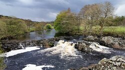 Visited on Monday 17th May 2021 High Force Waterfalls, Here heading to Low Force