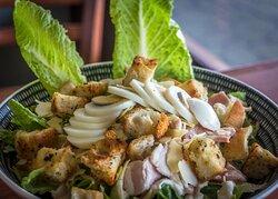 Caesar salad at The Kitchen in Strahan