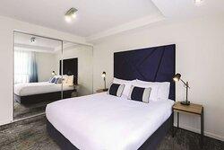 adina apartment hotel northbank two bedroom bedroom