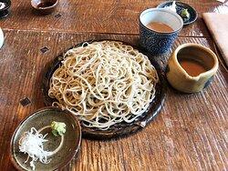 くるみタレ蕎麦