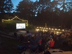 Dusk Outdoor Cinema Experience