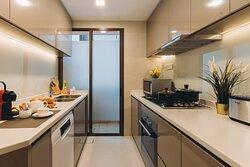 Two Bedroom (Refurbished) - Kitchen