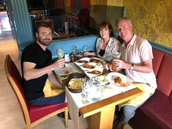 Here at Bengal Brasserie, we have such amazing customers who have been coming to us for many years enjoying our food, supporting us and looking after us! Even when it comes to days where it was challenging for us during COVID, they were still here! I just want to thank you guys so much and we appreciate it a lot! Thanks Gaz, and Mr& Mrs Noble! X