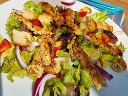 La salade de poulet