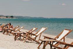 Relax by the sea and enjoy the view
