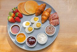 French Plate  Rocca Lounge Breakfast Items