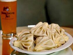 Khinkali and Beer