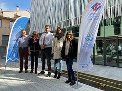 L'équipe de l'Office de Tourism et de la Culture : Frédéric, Nathalie, Alexandre, Charlotte & Alexandra.