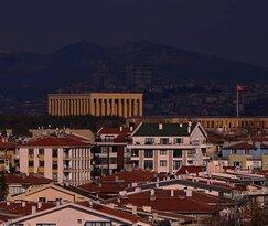 Anitkabirden panoramik gorunum Ankara