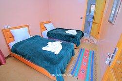 Hotel Room at Aroumd, Hotel Aremd Imlil, Atlas Mountains