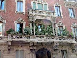 I balconi centrali