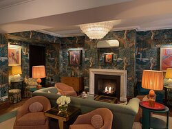 Cosy drawing room to have tea or just relax with a paper