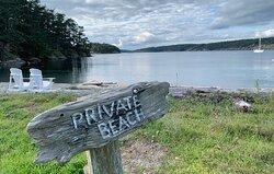 Mackaye Harbor Inn Private Beach