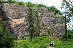 2.  Llanymynech Rocks Nature Reserve, Llanymynech