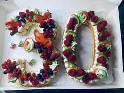 NumberCake 30 Thème Italie 🇮🇹                      -3  Génoise punchage rhum vanille  Chantilly vanille Curd fraise  Fruits rouge & gourmandises                      -0  Biscuit noisette 🌰 Chantilly vanille  Curd citron  Framboises & gourmandises 😋