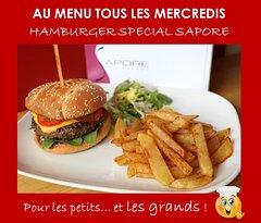 Tous les mercredis, l'Hamburger du SAPORE
