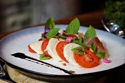 The Tram Restaurant, Pattaya : Prosciutto Caprese Salad