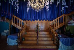 Our grand staircase where most of our character performances are held and a great place for photo opportunities
