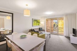 adina serviced apartments canberra kingston two bedroom apartment lounge room